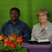 Sister Irene and Pastor Ruban Thaanasingh from India